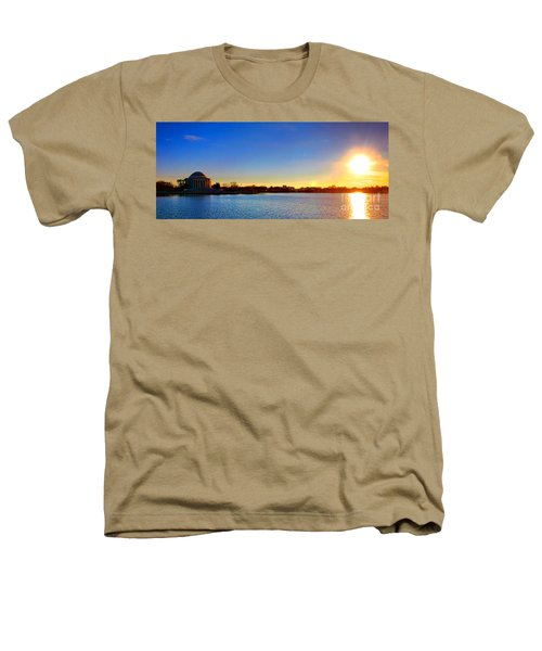Sunset Over The Jefferson Memorial  Heathers T-Shirt