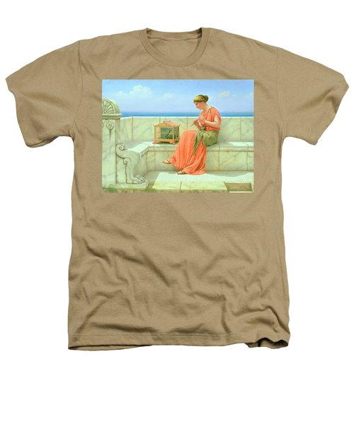 Sweet Sounds Heathers T-Shirt by John William Godward