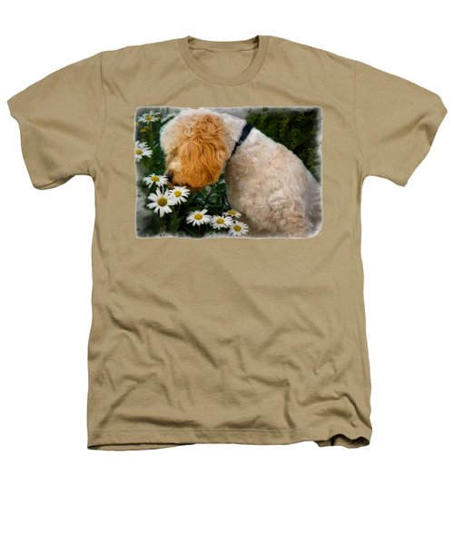 Taking Time To Smell The Flowers Heathers T-Shirt