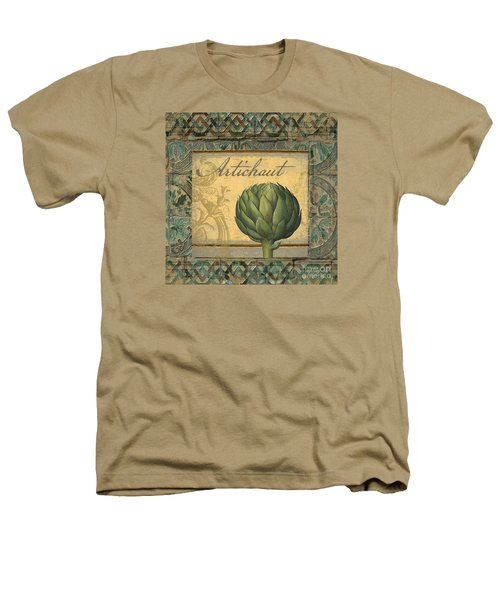 Tavolo, Italian Table, Artichoke Heathers T-Shirt by Mindy Sommers