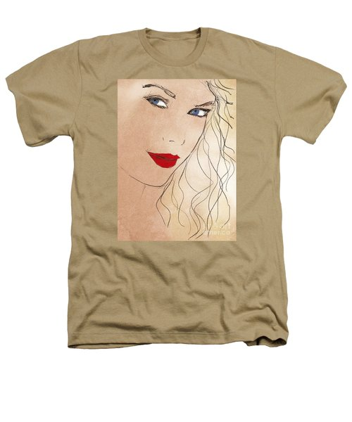 Taylor Red Lips Heathers T-Shirt by Pablo Franchi