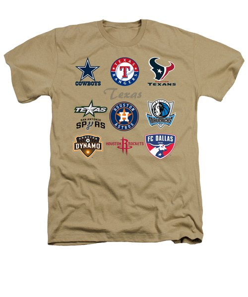 Texas Professional Sport Teams Heathers T-Shirt