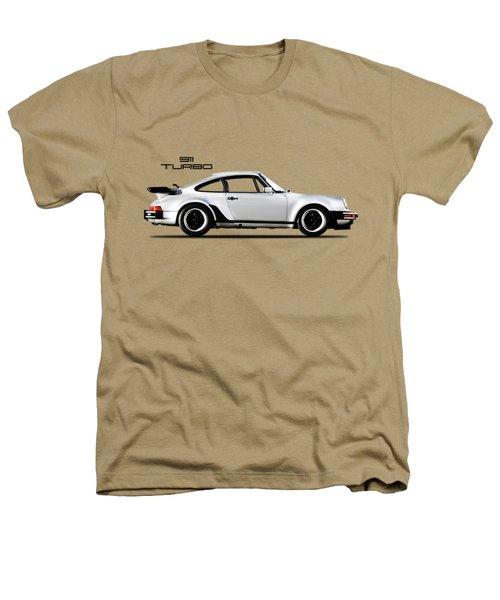The 911 Turbo 1984 Heathers T-Shirt by Mark Rogan