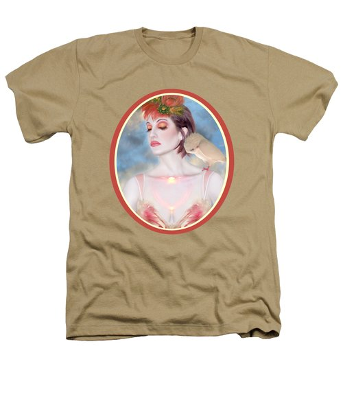 The Avian Dream - Self Portrait Heathers T-Shirt