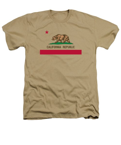 The Bear Flag - State Of California Heathers T-Shirt