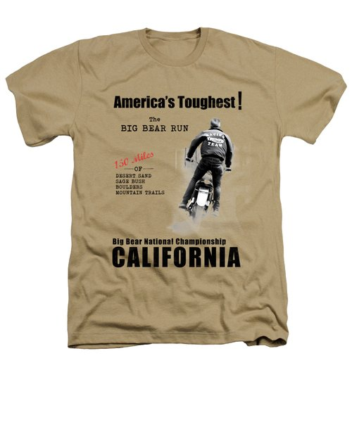 The Big Bear Run Heathers T-Shirt