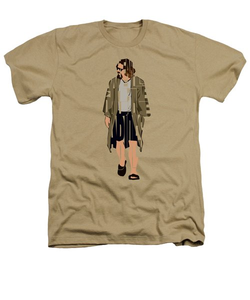 The Big Lebowski Inspired The Dude Typography Artwork Heathers T-Shirt