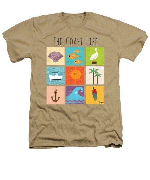The Coast Life Heathers T-Shirt