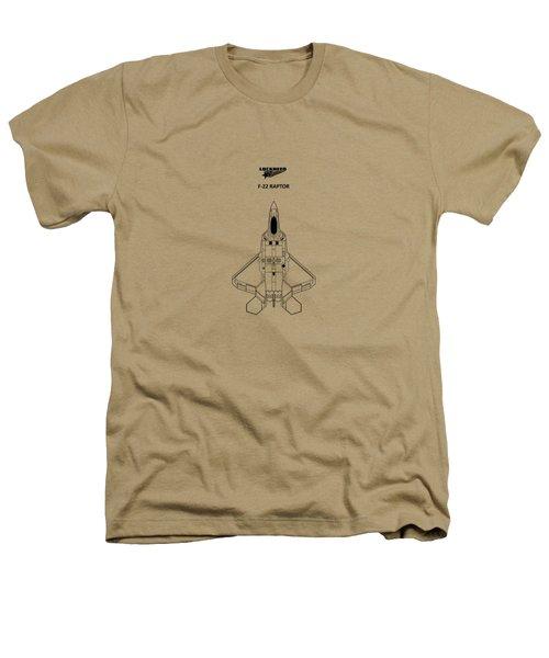 The F-22 Raptor Heathers T-Shirt