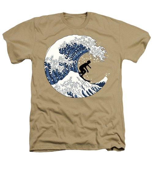 The Great Surfer Off Kanagawa Heathers T-Shirt