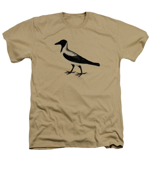 The Hooded Crow Heathers T-Shirt by Mark Rogan