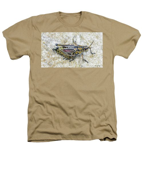 The Hopper Grasshopper Art Heathers T-Shirt by Reid Callaway