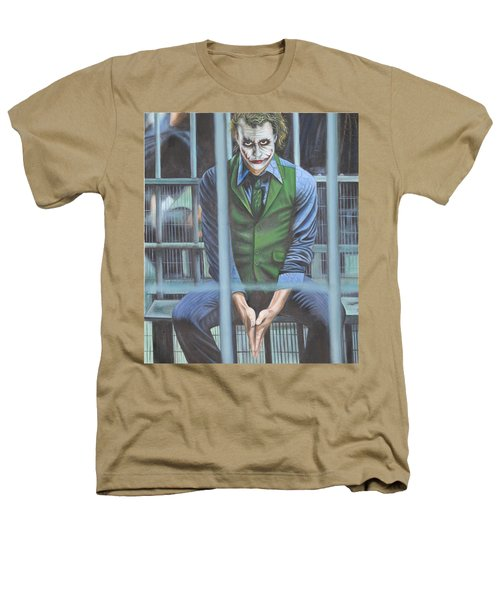 The Joker Heathers T-Shirt by Colm Hutchinson