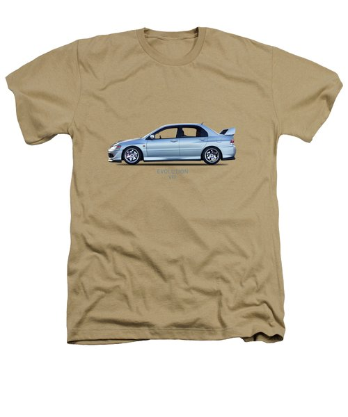 The Lancer Evolution Viii Heathers T-Shirt by Mark Rogan