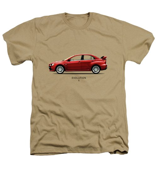 The Lancer Evolution X Heathers T-Shirt by Mark Rogan