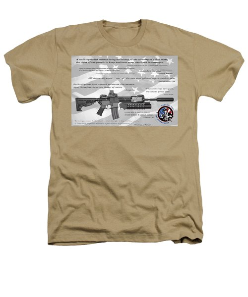 The Right To Bear Arms Heathers T-Shirt