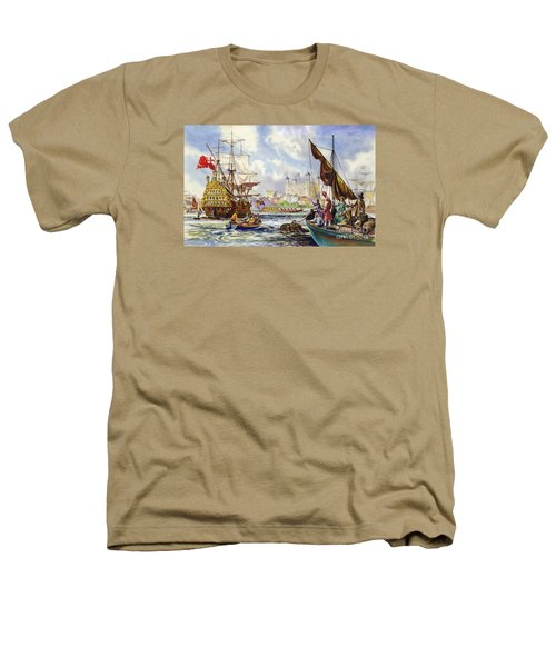 The Tower Of London In The Late 17th Century  Heathers T-Shirt by English School
