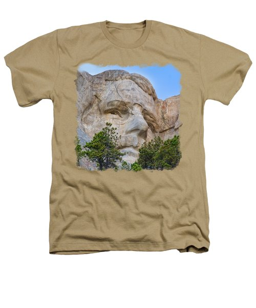 Theodore Roosevelt 3 Heathers T-Shirt by John M Bailey