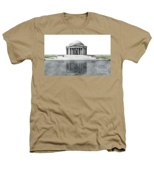 Thomas Jefferson Memorial, Washington Heathers T-Shirt