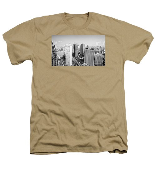 Tokyo Skyline Heathers T-Shirt