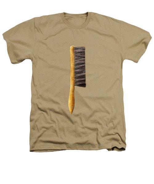 Tools On Wood 52 On Bw Heathers T-Shirt