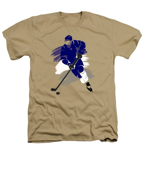 Toronto Maple Leafs Player Shirt Heathers T-Shirt by Joe Hamilton