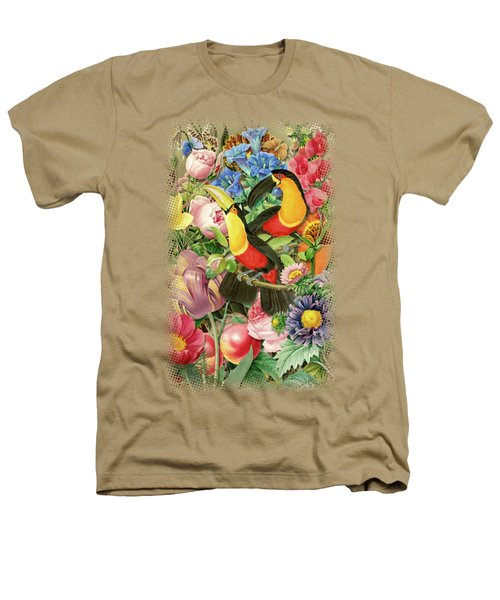 Toucans Heathers T-Shirt by Gary Grayson