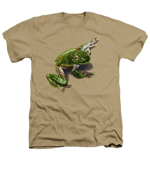 Tree Frog  Heathers T-Shirt by Owen Bell