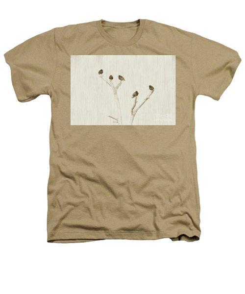 Treetop Starlings Heathers T-Shirt