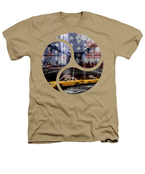 Trendy Design Nyc Composing Heathers T-Shirt by Melanie Viola