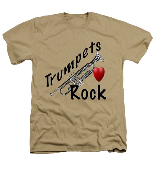 Trumpets Rock Heathers T-Shirt