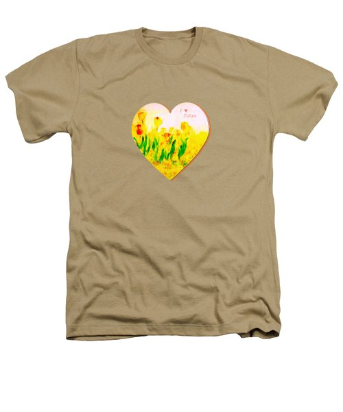 Tulips In Springtime-floral Painting By V.kelly Heathers T-Shirt