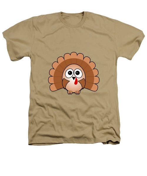 Turkey - Birds - Art For Kids Heathers T-Shirt