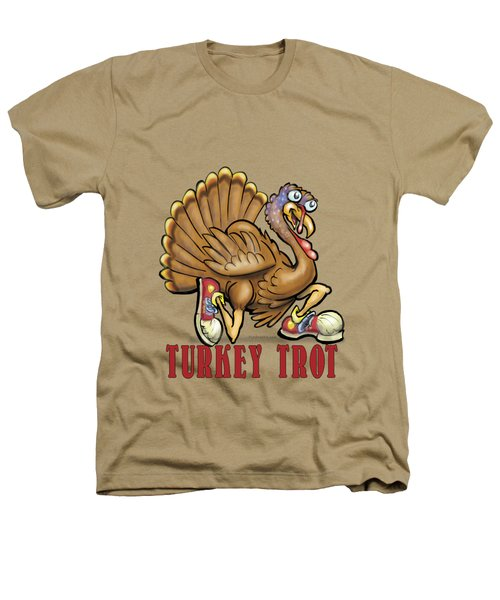 Turkey Trot Heathers T-Shirt by Kevin Middleton