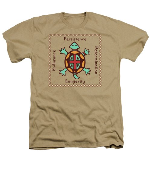 Turtle Animal Spirit Heathers T-Shirt