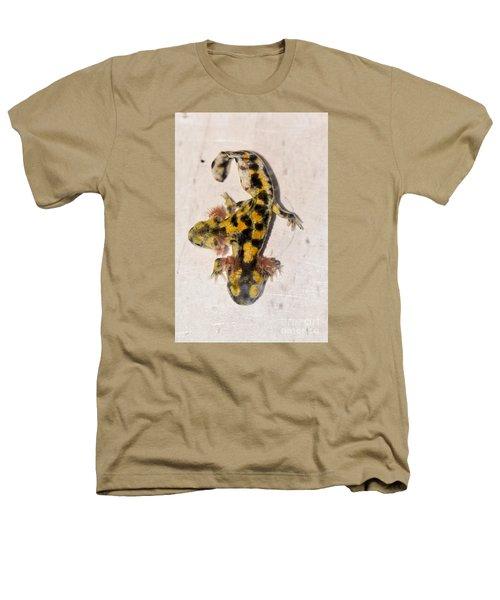 Two-headed Near Eastern Fire Salamande Heathers T-Shirt