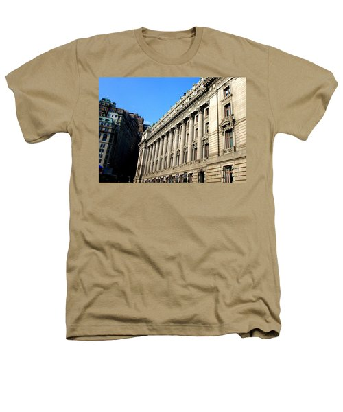 U S Custom House 1 Heathers T-Shirt by Randall Weidner