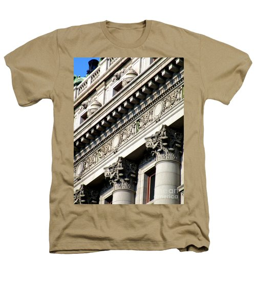 U S Custom House 2 Heathers T-Shirt by Randall Weidner