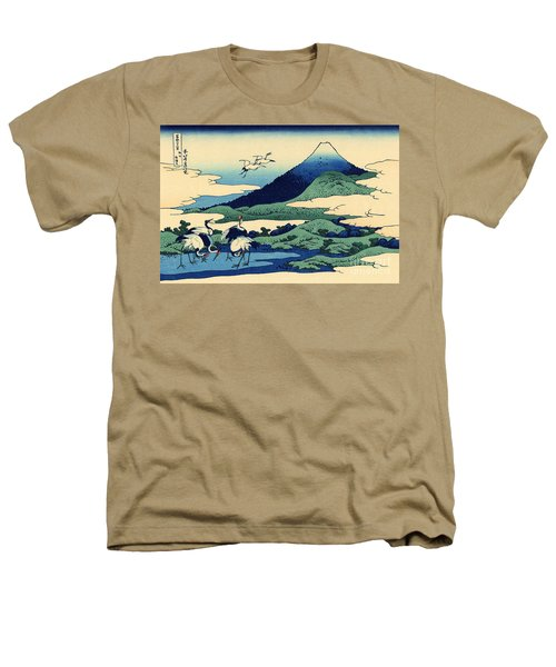 Umegawa In Sagami Province, One Of Thirty Six Views Of Mount Fuji Heathers T-Shirt by Hokusai