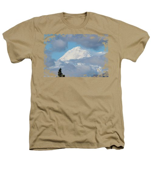 Up In The Clouds Heathers T-Shirt by Di Designs
