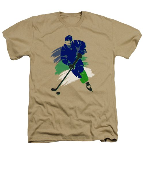 Vancouver Canucks Player Shirt Heathers T-Shirt by Joe Hamilton