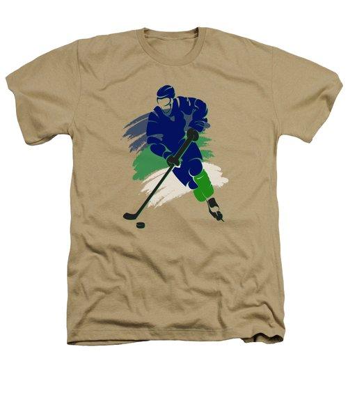 Vancouver Canucks Player Shirt Heathers T-Shirt by Joe Hamilton