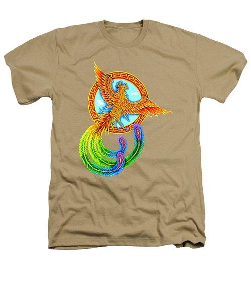 Vermilion Bird Heathers T-Shirt