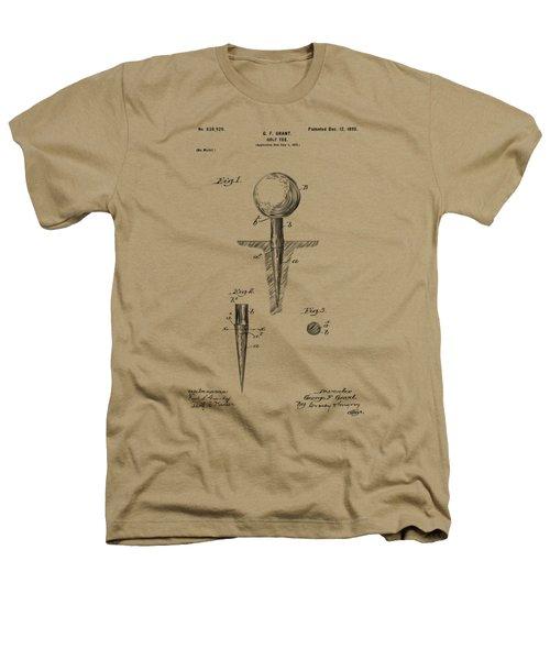 Vintage 1899 Golf Tee Patent Artwork Heathers T-Shirt