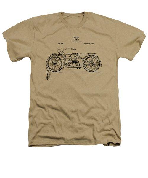 Vintage Harley-davidson Motorcycle 1919 Patent Artwork Heathers T-Shirt