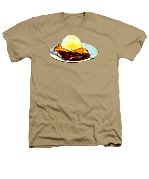 Vintage Pie A La Mode Heathers T-Shirt by Historic Image