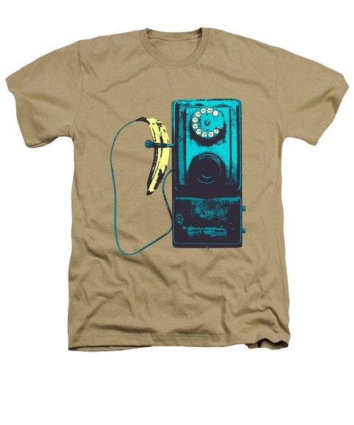Vintage Public Telephone Heathers T-Shirt by Illustratorial Pulse