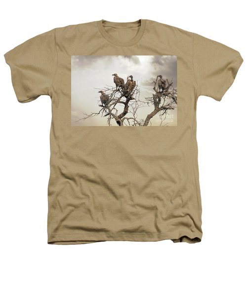 Vultures In A Dead Tree.  Heathers T-Shirt by Jane Rix