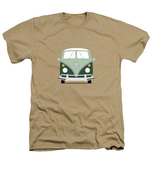 Vw Bus Green Heathers T-Shirt