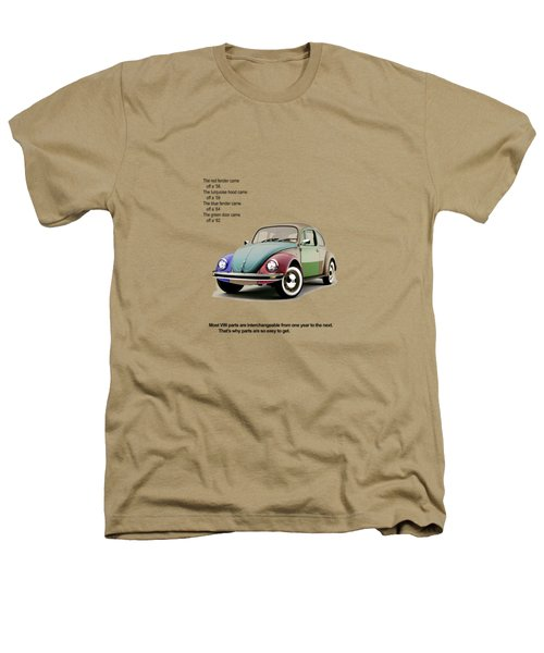 Vw Parts Heathers T-Shirt by Mark Rogan